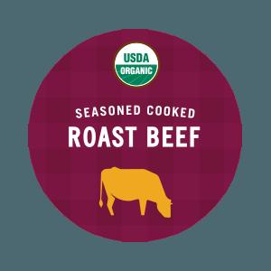 USDA Organic Seasoned Cooked Roast Beef