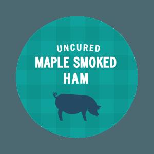 Uncured Maple Smoked Ham