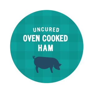 Uncured Oven Cooked Ham