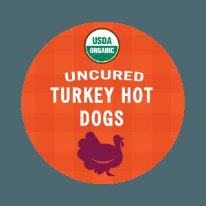 USDA Organic Uncured Turkey Hot Dogs