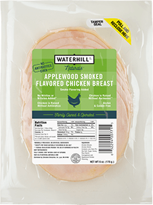 Natural Applewood Smoked Flavored Chicken Breast