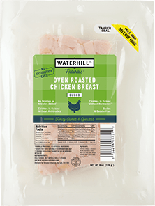 Naturals Oven Roasted Chicken Breast Cubed