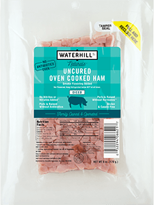 Naturals Uncured Oven Cooke Ham Diced