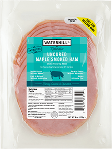 Natural Uncured Maple Smoked Ham